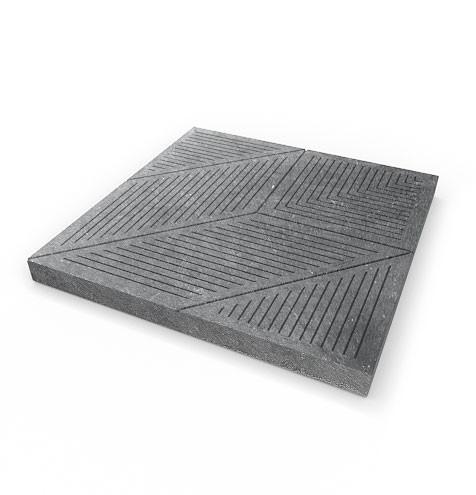 Dlažba terasová s dezénem - Klára, 500x500x40 mm, s