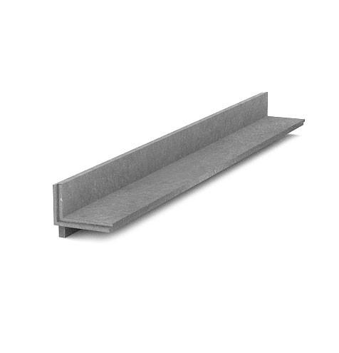 Lemovací obrubník 110x115, 1,2 m, S