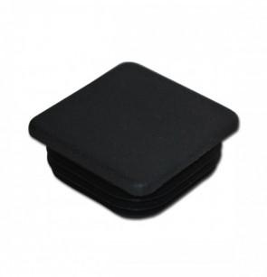 Záslepka sloupku 65x65mm, plastová, černá