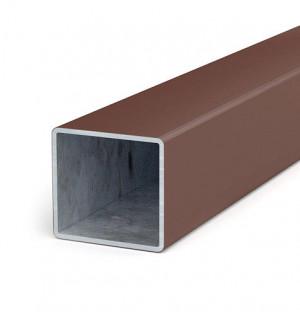sloupek 60x60x1,5 délka min. 6 m, zinek+plast, H