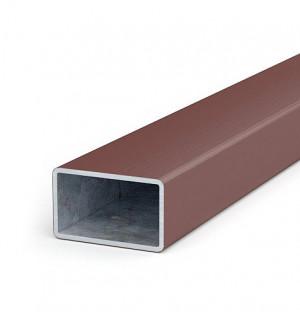 jekl 50x30x1,8 délka do 4 m, zinek+plast, H